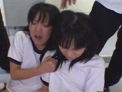 spit japanese little girls