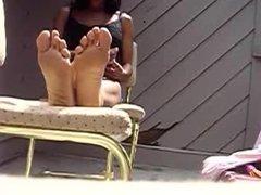 soles displayed - summertime