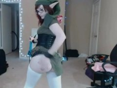 If Link was a naughty girl (Cosplay The Legend of Zelda)