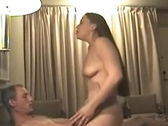 CGS - WIFE ON LOVER Riding Action In A Hotel
