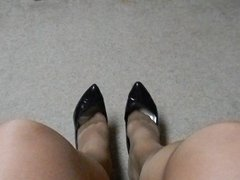 heels and nylons