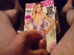 masturbating with condom to cosmopolitan magazine