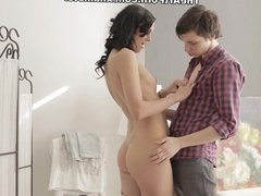 Get dirty in a cozy chair scene 1