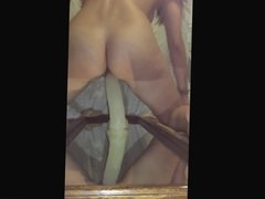 fucked by a chair with a 8 inch dildo 4 (  now mirror)
