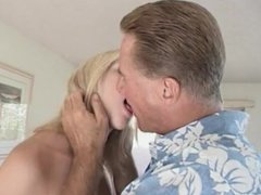 Amateur pussy stuffed with hard