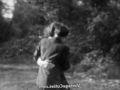 The Winner Fucks the Girl in the Ass (1920s Vintage)