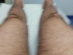 Piercing of the scrotum