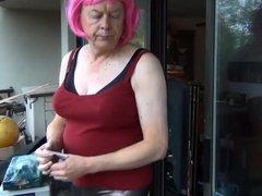 Naughty Gigi is a smoking slut