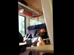 Sexy Legs in Train (Hidden Cam)