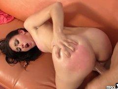 Hot Teen Loves Having Her Big Booty Spanked!