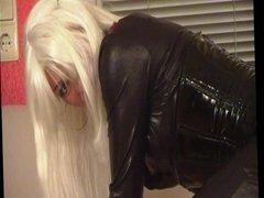 Blonde Latex MILF Part I