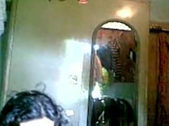 Indian teen self recording her body