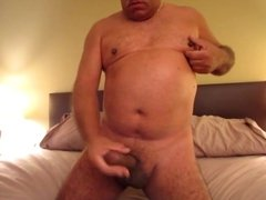 Jerking Off with Tank Top