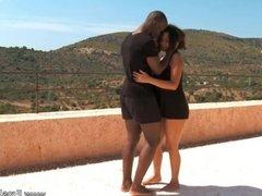 Making Love From Ebony Couple