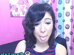 Very Cute Asian Babe on Cam