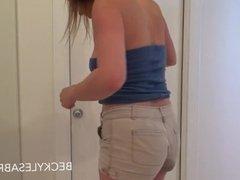 Becky pee 1