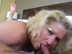 MILF from DateMilfs(dot)net Sucking her Date