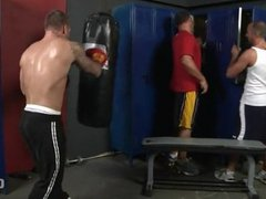 Locker Room Knockout
