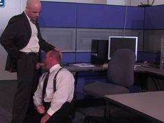 Boss Adam Russo Demands Blowjob