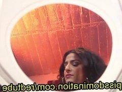 Bossy Delilah Femdom Toilet Slave Piss POV