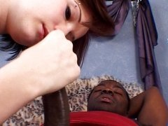 She is lucky she found a black dick to sit on