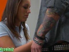 Schoolgirl Seduces Her New Teacher