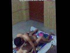 Desi Pakistani Couples Nude on Floor Enjoying