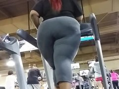 1fuckdatecom Massive bbw spandex ass on trea