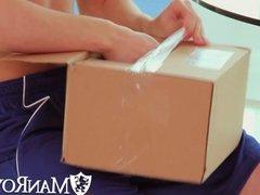 ManRoyale - Archer tests his new dildo