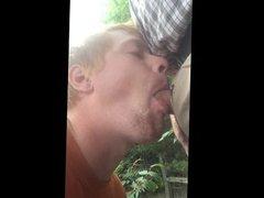 Gay Deepthroat ginger boy face fucked