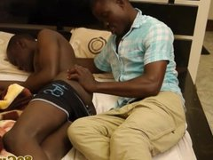 Cocksucking african amateurs in the morning