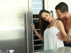 PureMature - Hot brunette Kortney Kane fuck