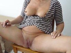 Cumshot on lovely woman 1fuckdatecom
