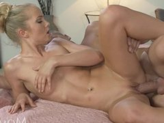 MOM Tight blonde woman can't say no to cock