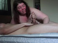 Massive cumshot from sissy with 1fuckdatecom