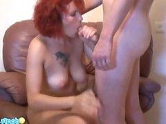 Redhead milf zharona sex on cam 1fuckdatecom