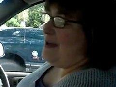 Bbw handjob 9 in the car marrie 1fuckdatecom
