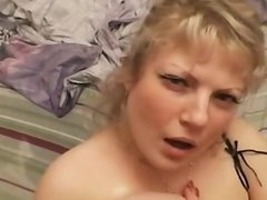 Cumshot on russian big tits 1fuckdatecom