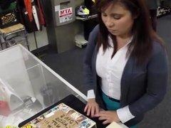 Milf Customer Fucks For Bail Cash