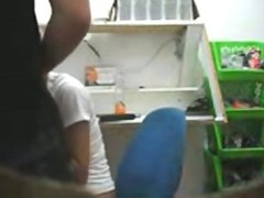 1fuckdatecom Voyeur blowjob in the office