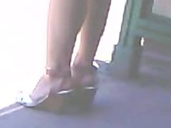High heels asian teen 1fuckdatecom