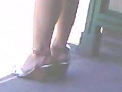 High heels asian teen 1fuckdatecom