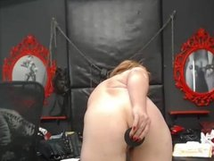 1fuckdatecom Girl playing with toys