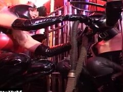 Maike is a hot lesbian who loves latex. Her