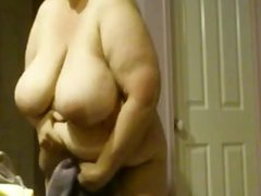 Bbw wife shower and after 1fuckdatecom