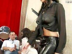 Anissa & Kiki love blowjobs + anal surprise!!