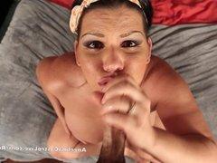 Angelina Castro Gets MASSIVE Facial CumShot!