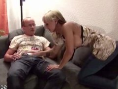 Step-Dad Seduce Young German Girl to Fuck