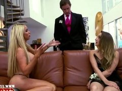 Nikki Benz fucks with teens during prom