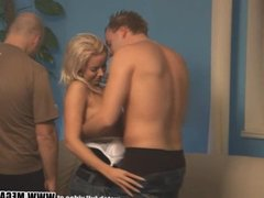 Watch these swingers partying and banging